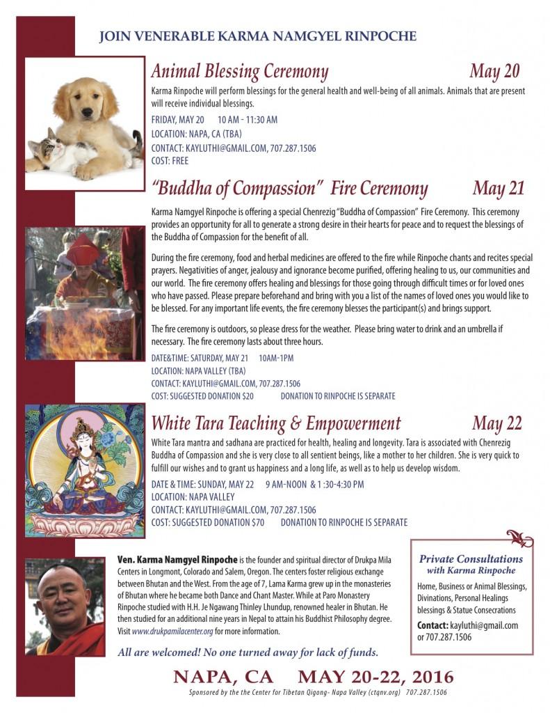 Lama.Karma.May 20-22.2016.Napa CA